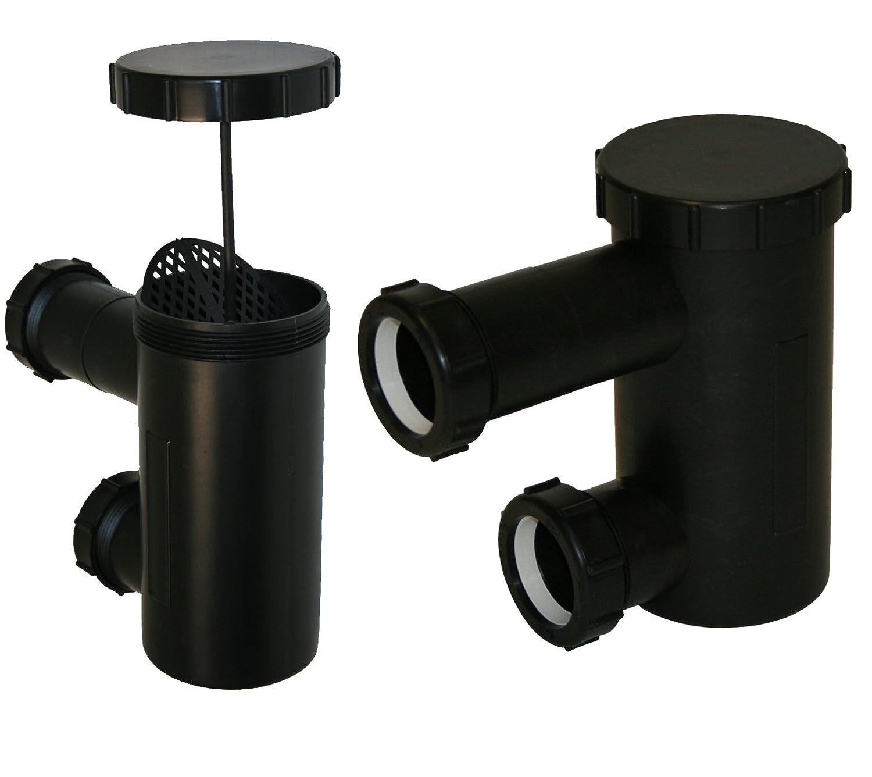 2 LCL Beauty Universal P-Traps Shampoo Bowl Sink Hair PVC P Trap Beauty Barber Salon Equipment