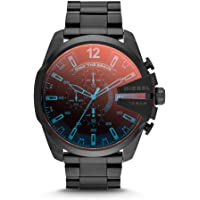 Diesel Men's DZ4318 Mega Chief Black Ip Watch