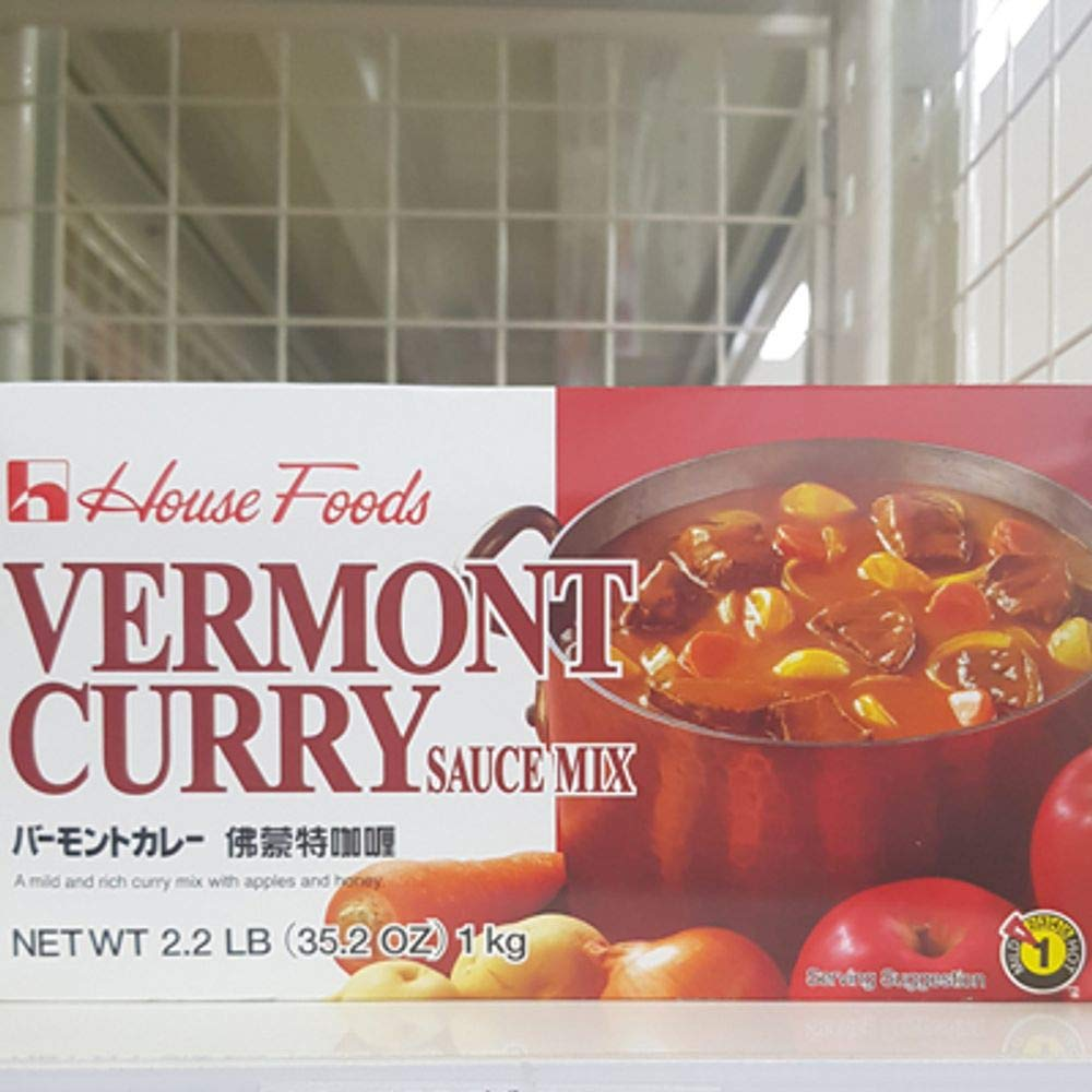 House Foods Vermont Curry Sauce Mix 1kg