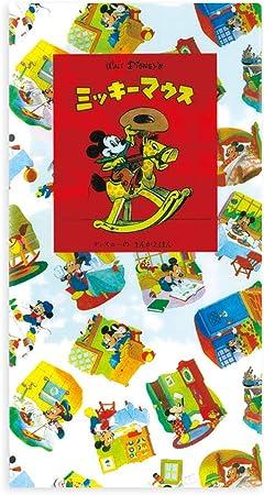 Disney 抗菌 マスクケース 3ポケット (ミッキー絵本)