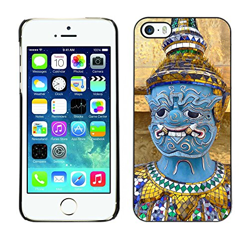 Premio Sottile Slim Cassa Custodia Case Cover Shell // F00016162 statue Thai // Apple iPhone 5 5S 5G