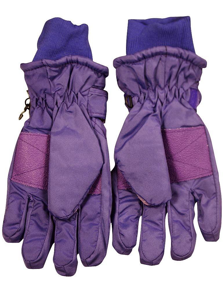 Winter Warm-Up - Ladies Ski Gloves, Purple 36751-Large by WINTER WARM-UP (Image #2)