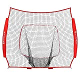 SONGMICS 7' x 7' Replacement Baseball Net (Net Only), Softball Backstop Net, Heavy Duty and Knotless, NO FRAME, USNT01RB