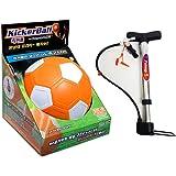 Kickerball + utility pump soccer ball free kick construction ball foot ball spinning curve soccer ball spinning sports