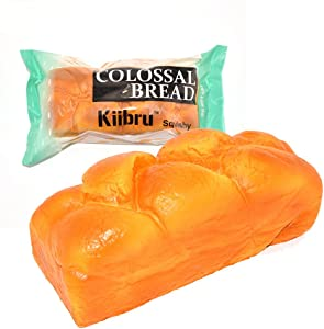 "Kiibru Squishy English Bread 7.9"" Colossal Slow Rising Squishies Scented Toy"