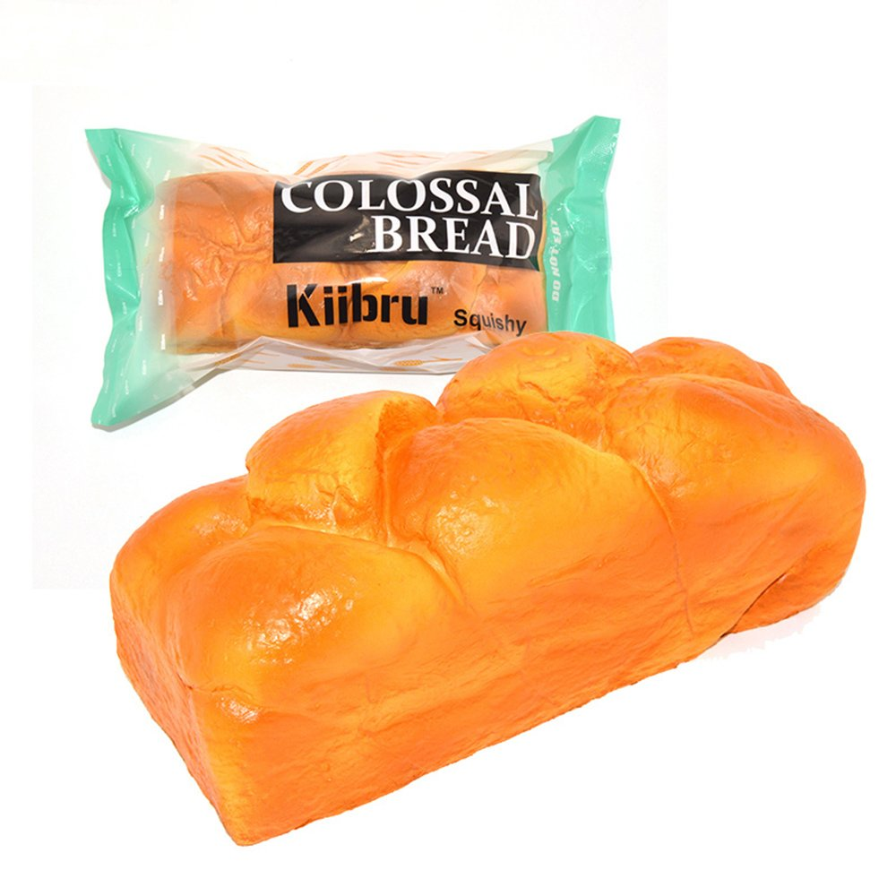 Kiibru Squishy English Bread 7.9'' Colossal Slow Rising Squishies Scented Toy