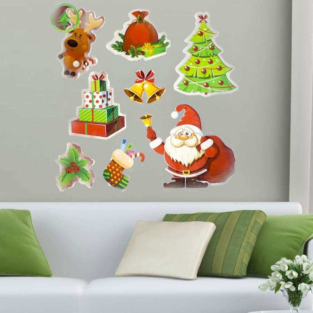 Biback Christmas Decoration Santa Claus Christmas Tree Stickers Decoration by Biback (Image #2)