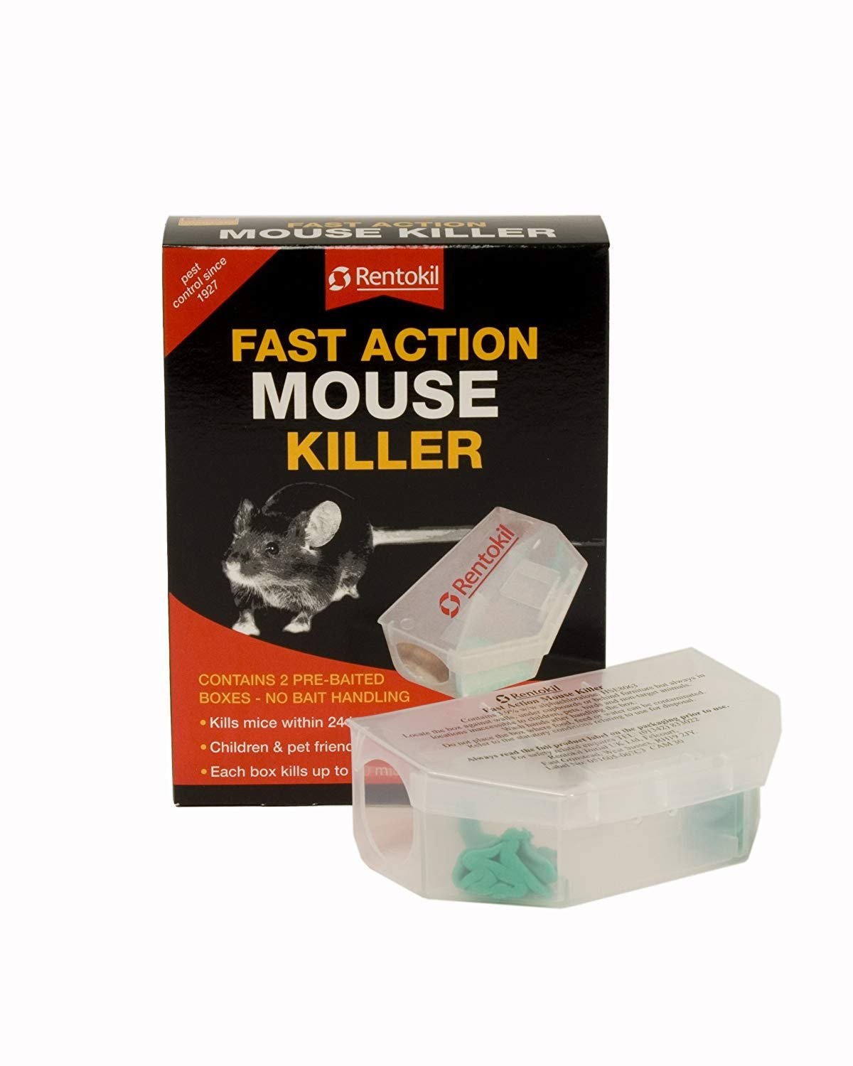 Centurion 90102 PSF135 Fast Action Mouse Killer Twin pack - Multi-Color Toolbank RKLPSF135 Misc Pest_Control