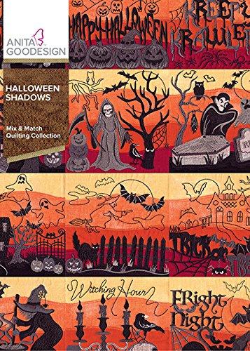 Anita Goodesign Embroidery Machine Designs CD HALLOWEEN -