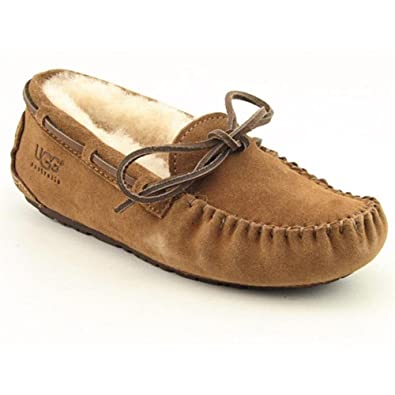 eaedbbdfe7e Ugg Kids Dakota Slippers - Chestnut  Amazon.co.uk  Shoes   Bags