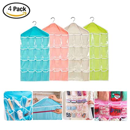 Faustine armario colgar bolsas organizador de calcetines bragas calzoncillos ropa & # xFF0 C; Plegable