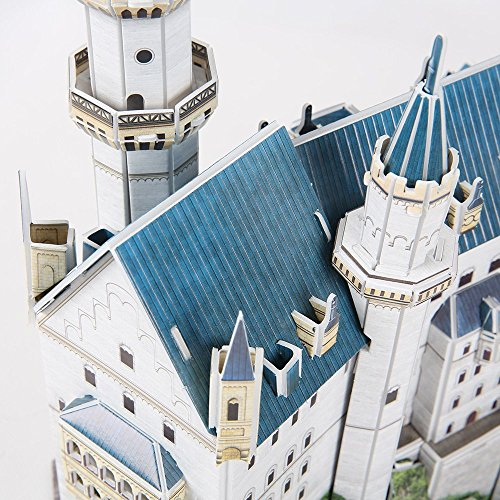 Ak Sport 0625623 - Puzzle 3d - Château De Neuschwanstein - 98 Pièces