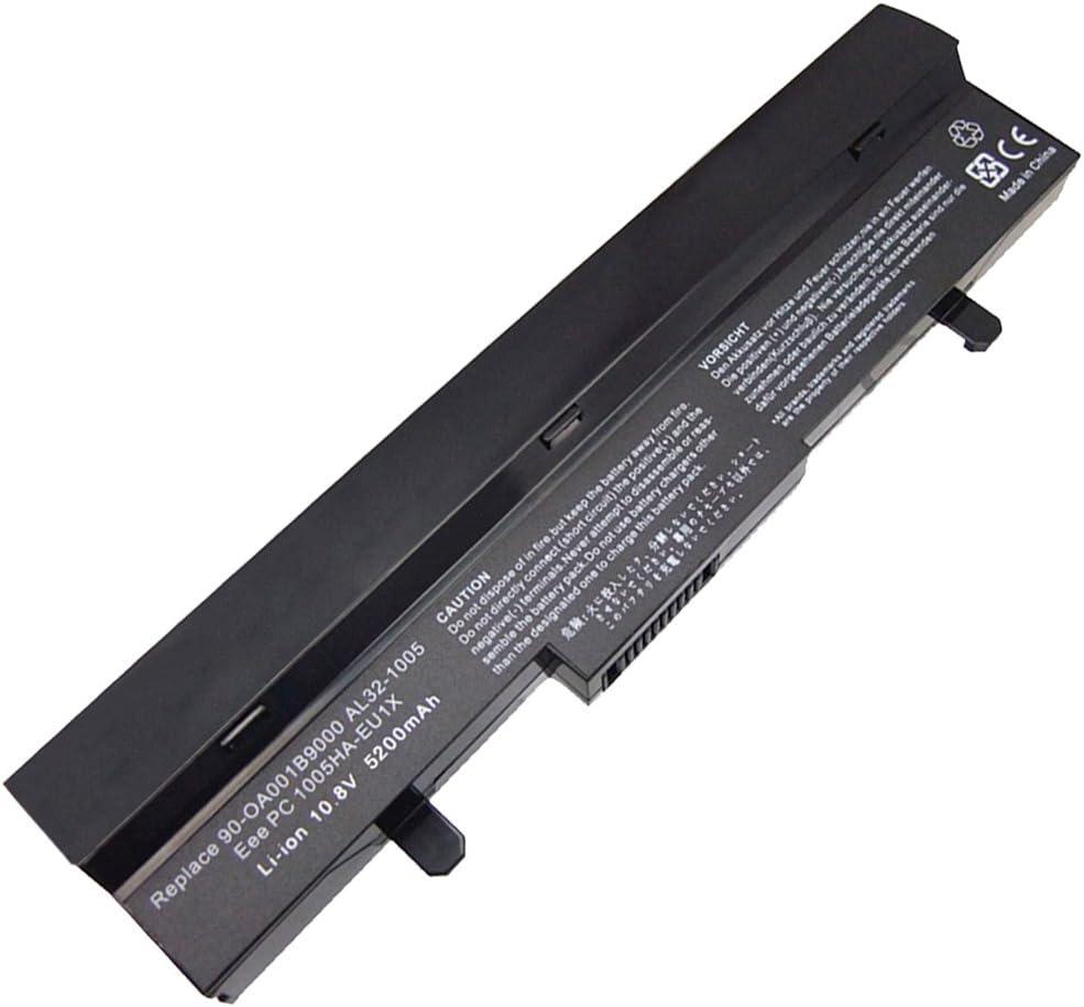 10.80V,4400mAh,Li-ion, Replacement UMPC, NetBook & MID Battery for ASUS 1001PX, Eee PC 1001, Eee PC 1005, Eee PC 1101 Series, Compatible Part Numbers: 90-OA001B9000, 90-OA001B9100, 90-XB0ROABT00000Q, 90-XB16OABT00000Q, 90-XB2COABT00000Q, AL31-1005, AL32-1005, ML32-1005, PL32-1005
