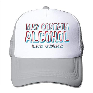 AOHOT Classic Hombre Mujer Gorras de béisbol, May Contain Alcohol ...