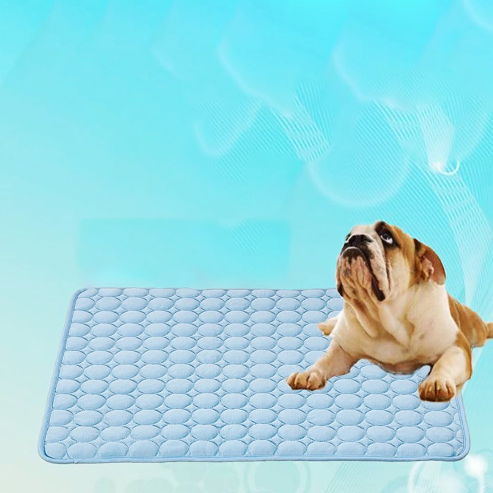 Cuscino per Cani Pet Caldo Estivo Tappetino Fresco Refrigerante per Animali Domestici laamei Tappetino Rinfrescante per Cane Gatto