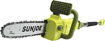 Sun Joe 10 Inch Electric 2-In-1 Telescopic Pole Chain Saw