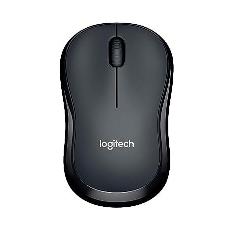 Logitech M220 Silent Kabellose Beidhändig Geräuchlose Maus (Optischer laser, ohne Klickgeräusche, USB für Windows/MAC/Chrome