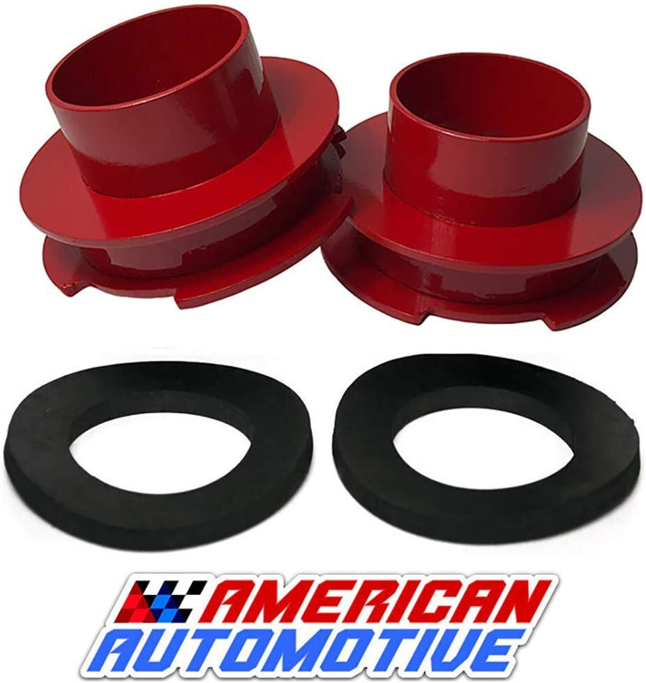 American Automotive 1994-2019 Ram 1500 Lift Kit 2 2WD Made in USA Road Fury Steel Coil Spring Spacers Set of 2