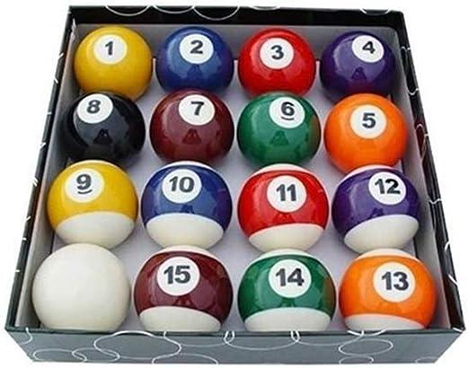 Bearony Set de Bolas de Billar, 16 Piezas/Set Bolas de Billar para ...