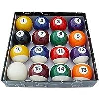 Andensoner Set de Bolas de Billar, 16 Piezas / Set Bolas de Billar para Niños Conjunto de Bolas de Billar Conjunto de Bola de Juguete en Miniatura