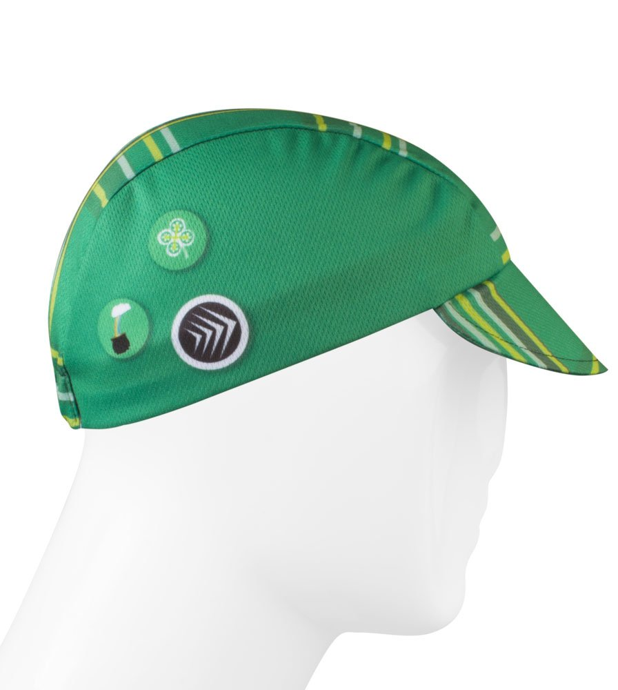 Lucky Leprechaun Cycling Cap - Made in the USA
