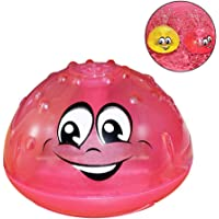 Sprinkler Ball Toy 2 Pack,Foonee Electric Induction Spray Ball Light Bathroom Infant Kids Water Bath Play Toy,Ideal Bath Toy Summer Pool Toy for Toddlers Boys Girls