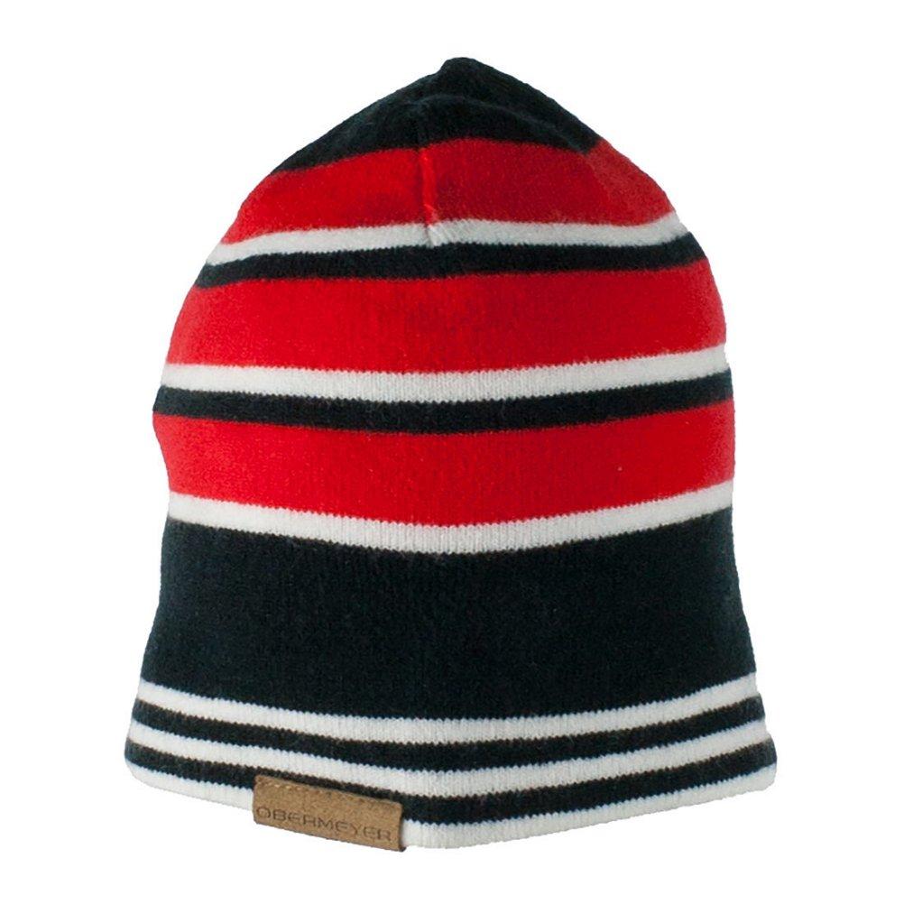 Obermeyer Boys Traverse Knit Hat Red Kids
