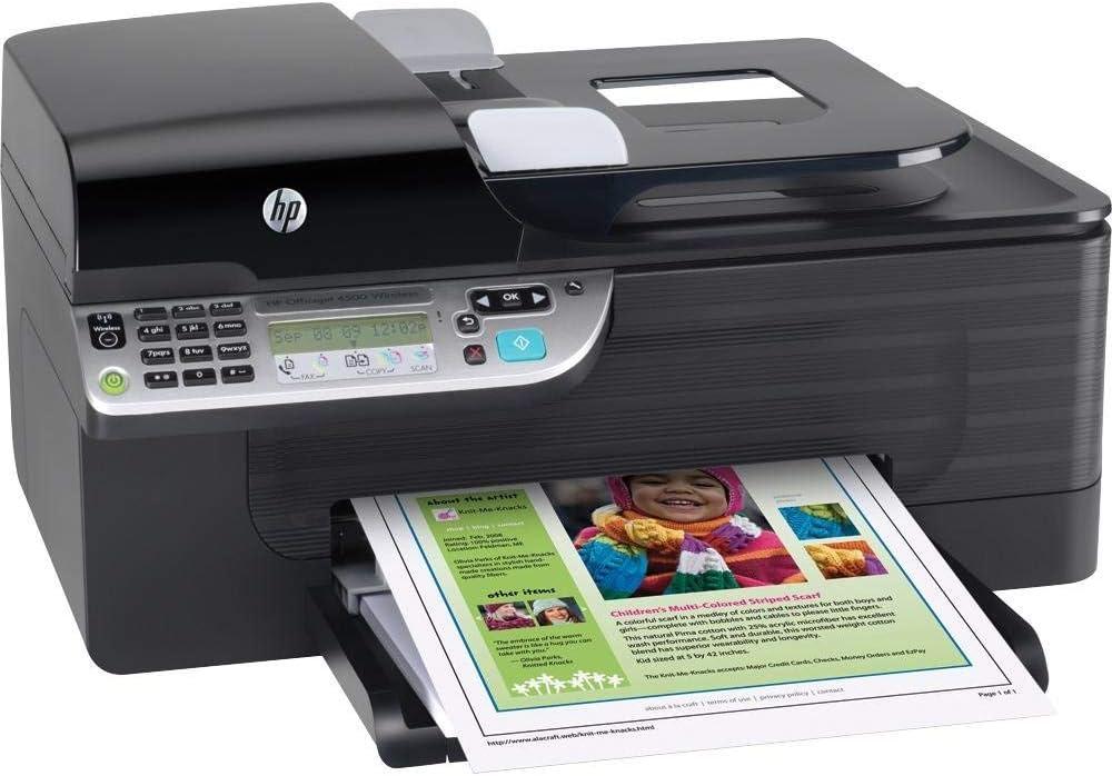 HP Officejet 4500 Wireless All in-One (CN547A#B1H) (Renewed)