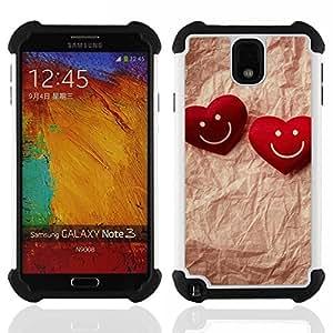 King Case - Love Happy Couple - Cubierta de la caja protectora completa h???¡¯???€????€?????brido Body Armor Protecci???¡¯