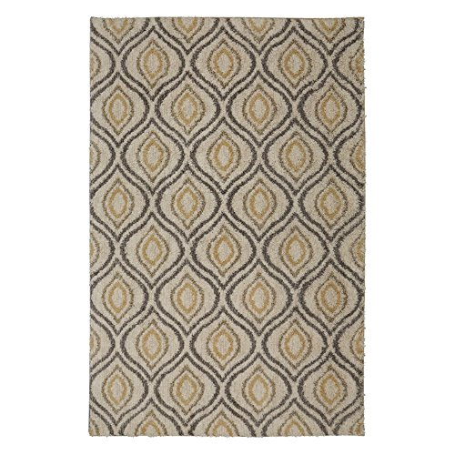 - Mohawk Home Laguna Ogee Waters Woven Rug, 8'x10', Tan