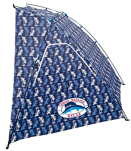 Best Tommy Bahama ABH201TB-215-1 Beach Shelter Tent Blue Print, 22 x 4 x 4