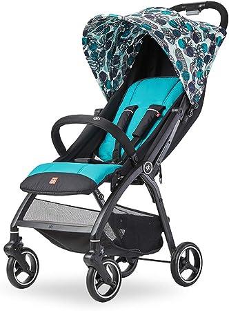 Opinión sobre Carro de bebé, Cochecito de bebé Compacto Plegable, Puede soportar de 0 a 15 kg, el Respaldo es Ajustable, 6,3 kg es Ligero y fácil de Transportar, el Sistema de absorción de Impactos Funciona sin p