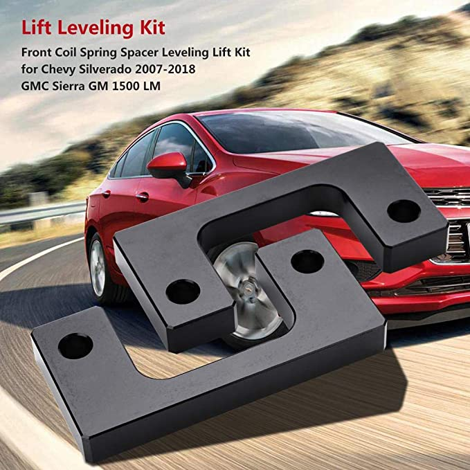 ECCPP Replacement Parts Lift Leveling Kit Raise Your Vehicle 1//2 Front Leveling Lift Kit Compatible with Chevy Chevrolet Silverado 1500 GMC Sierra 1500 LM 07-18