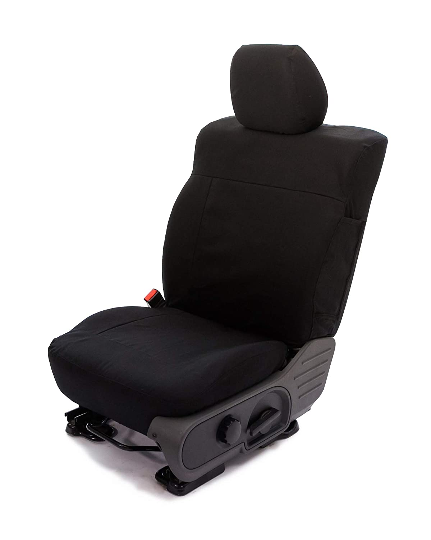 Saddleman S 049923-01 Black Custom Made Rear 60//40 Backrest with 3 Adj Headrests Seat Covers