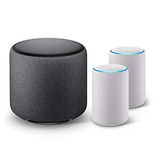 Echo Sub Bundle with 2 Echo Plus (2nd Gen) Devices - Sandstone