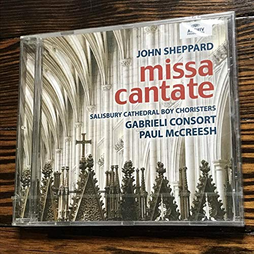 Sheppard: Missa Cantate by Archiv Produktion