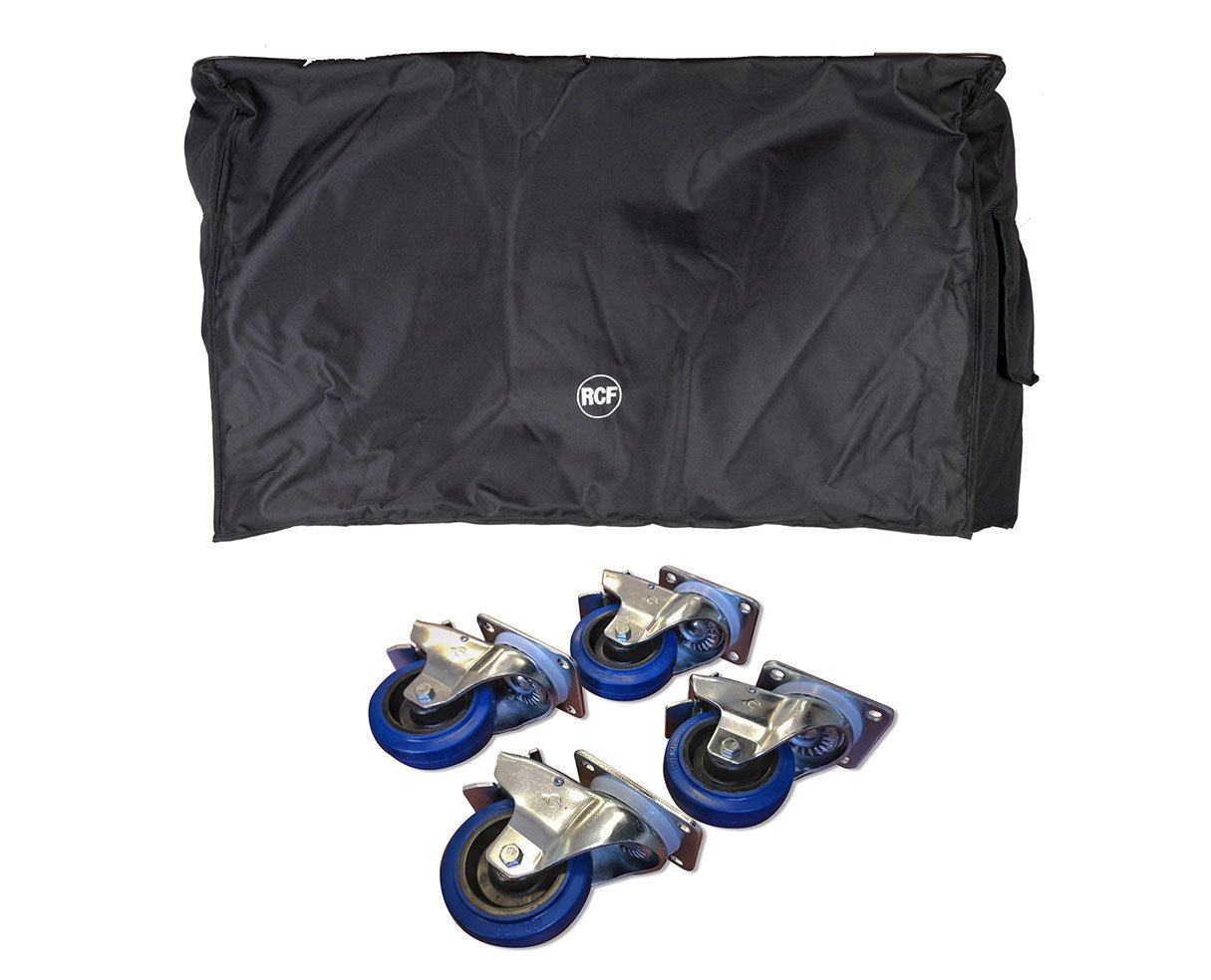 RCF SUB 8006-AS Cover + Casters 4-Pack