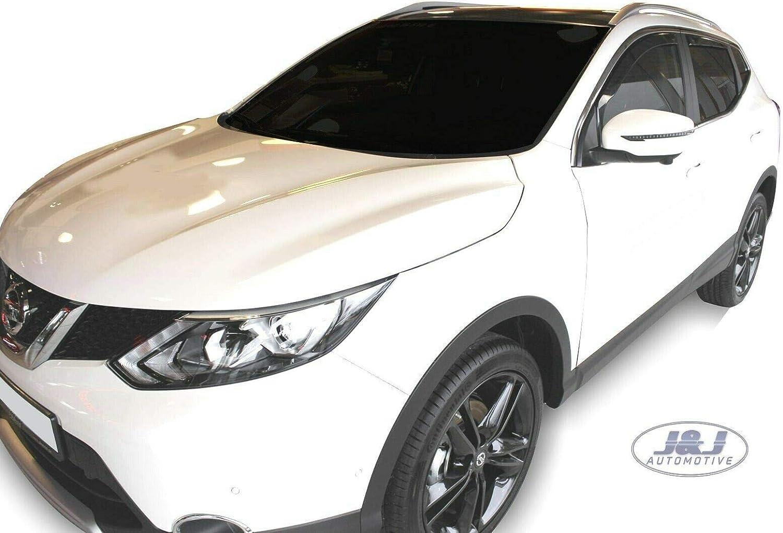 J/&J AUTOMOTIVE DEFLETTORI ARIA ANTITURBO PER Nissan Qashqai J11 2014-2018 4 pezzi