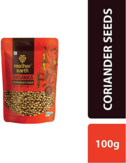 MOTHER EARTH Coriander Seeds 100G