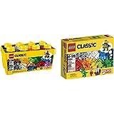 LEGO Classic Medium Creative Brick Box 10696 with LEGO Classic Creative Supplement 10693 Bundle