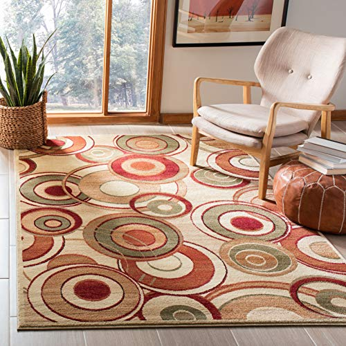Safavieh Lyndhurst Collection LNH225A Mid-Century Modern Non-Shedding Stain Resistant Living Room Bedroom Area Rug, 3'3…
