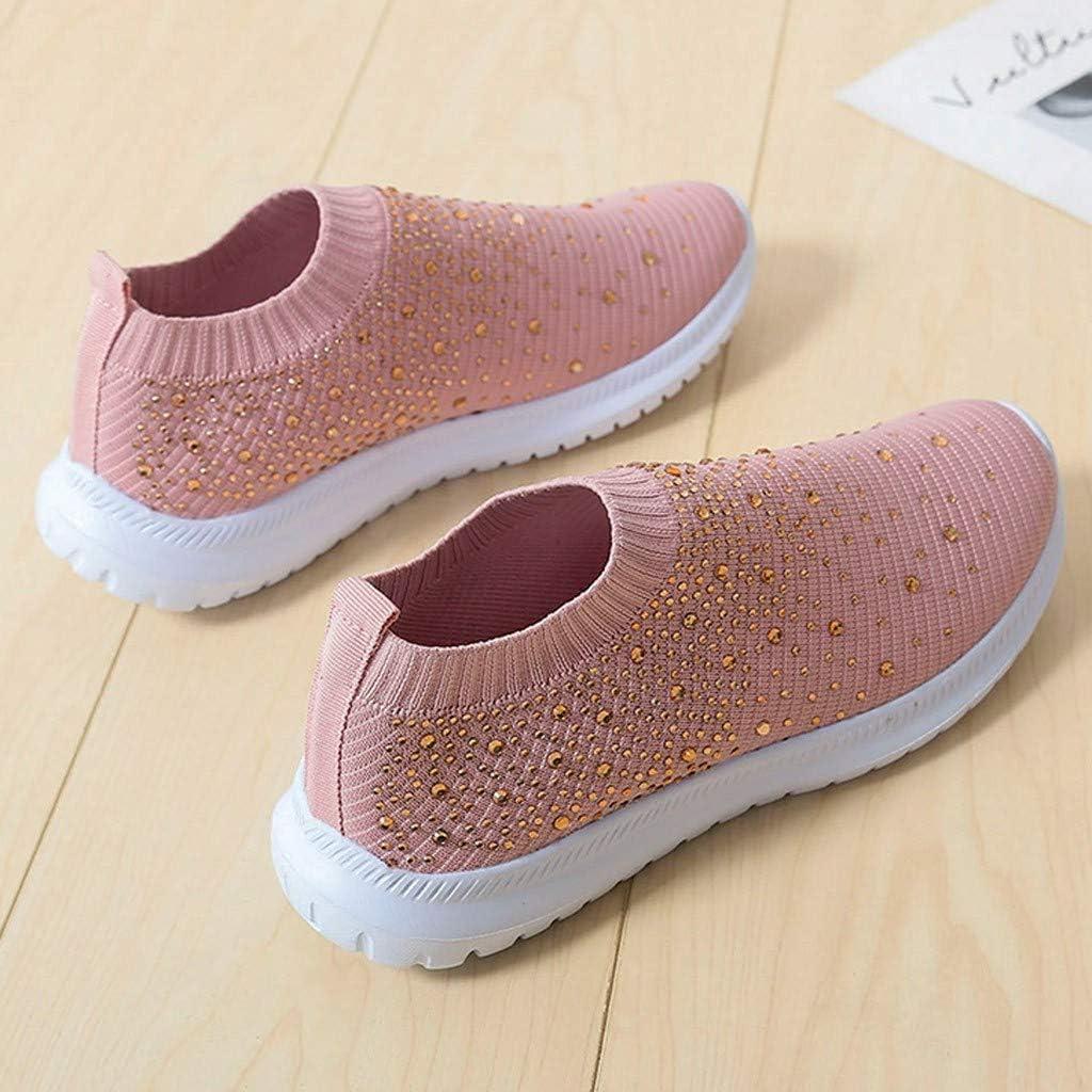 Moonuy /_ Baskets Sneakers sans Lacets Femme Chaussures Plates Compens/ées Overdose Automne Hiver Casual Sportwear Tennis