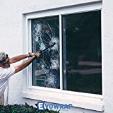 Clear 100 Micron Safety & Security Window Film - Anti Shatter BS6206 B Safety Glass Coating (76cm x 5 metres)