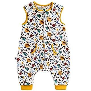 VAENAIT BABY 1-7Y Ultra Soft Plush Fleece Kids Boys Wearable Blanket Sleeper Funny Paper M
