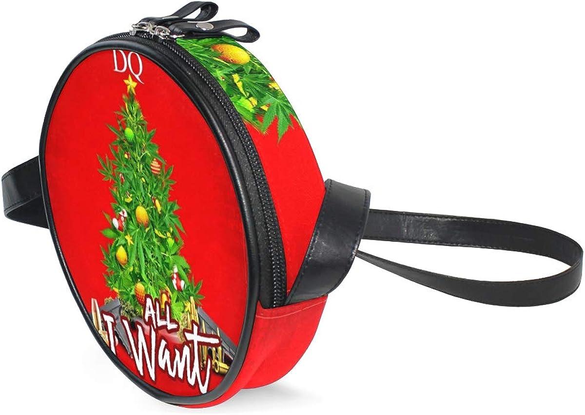 Round Crossbody Bag Enjoy...