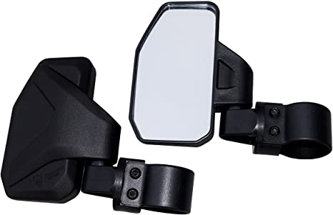 CAN AM COMMANDER 800 1000 ADJUSTABLE BREAKAWAY FOLDING SIDE VIEW MIRROR SET