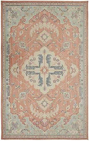 Mohawk Patna Aqua 7 ft. 6 in. x 10 ft. Area Rug