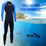 Full Body Dive Wetsuit Sports Skins Lycra Rash