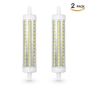SHINE HAI Bombillas LED ,Casquillo R7S 118mm 10W equivalentes a Lámparas halógenas de 100W,