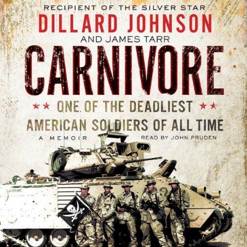 Carnivore: A Memoir by One of the Deadliest American Soldiers of All Time Audiobook [Free Download by Trial] thumbnail